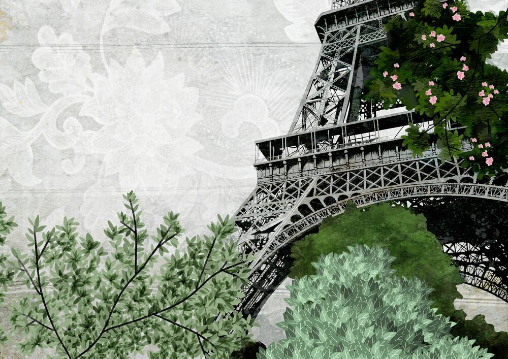 eiffel tower - fotokunst von Katherine Blower
