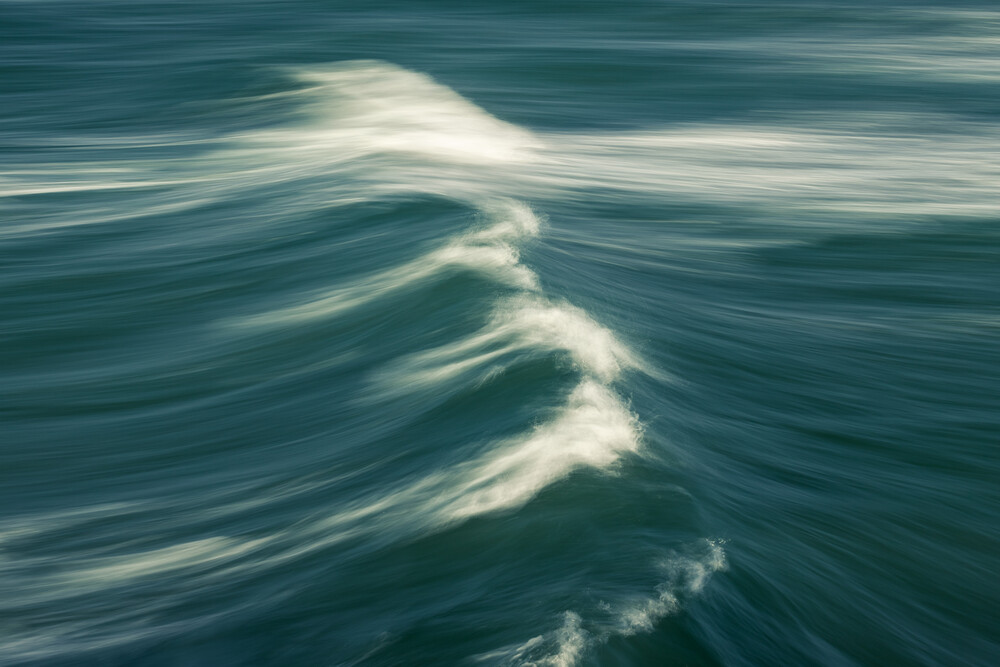 green sea - Fineart photography by Holger Nimtz