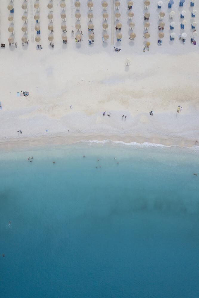 Beach life. Ice cream & sunshine - fotokunst von Studio Na.hili