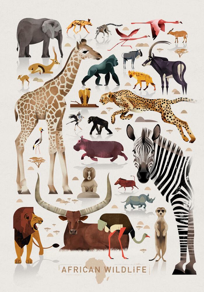 Afrika - fotokunst von Dieter Braun