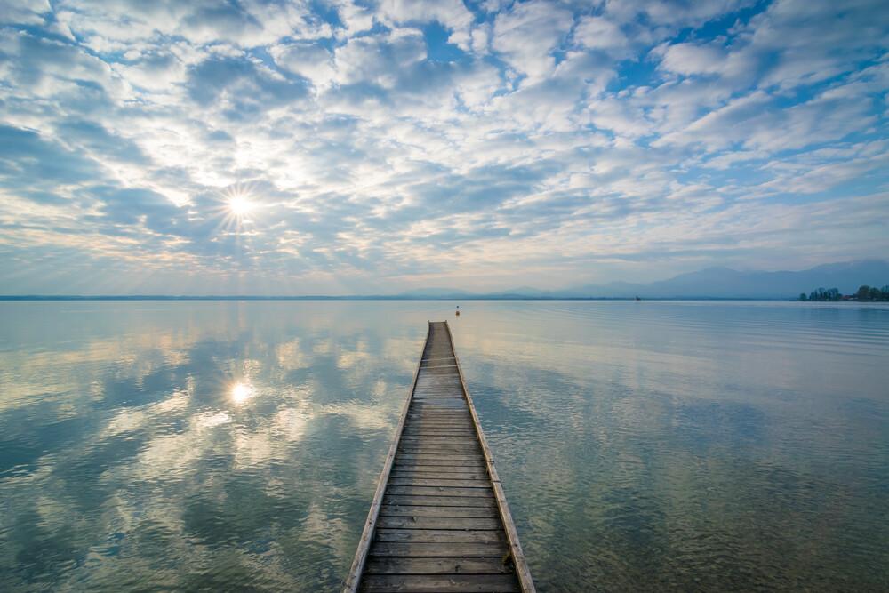 Himmel im Spiegel - fotokunst von Martin Wasilewski