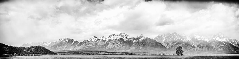 Teton Range - fotokunst von Jörg Faißt
