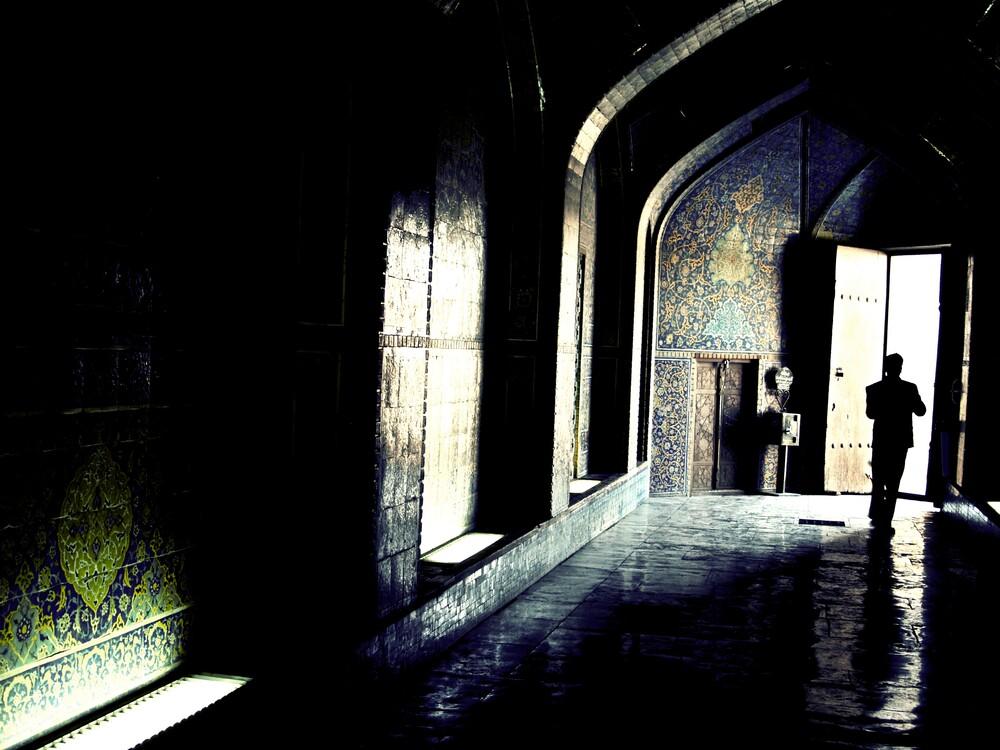 Esfahan Mosque - fotokunst von Brett Elmer