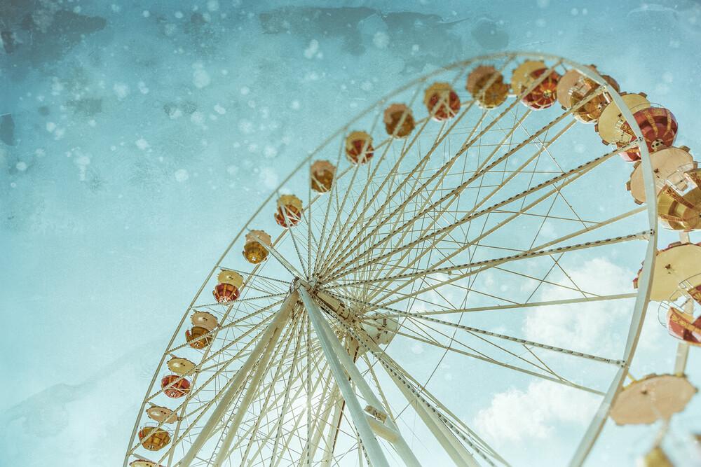 Riesen Riesenrad - fotokunst von Andrea Hansen