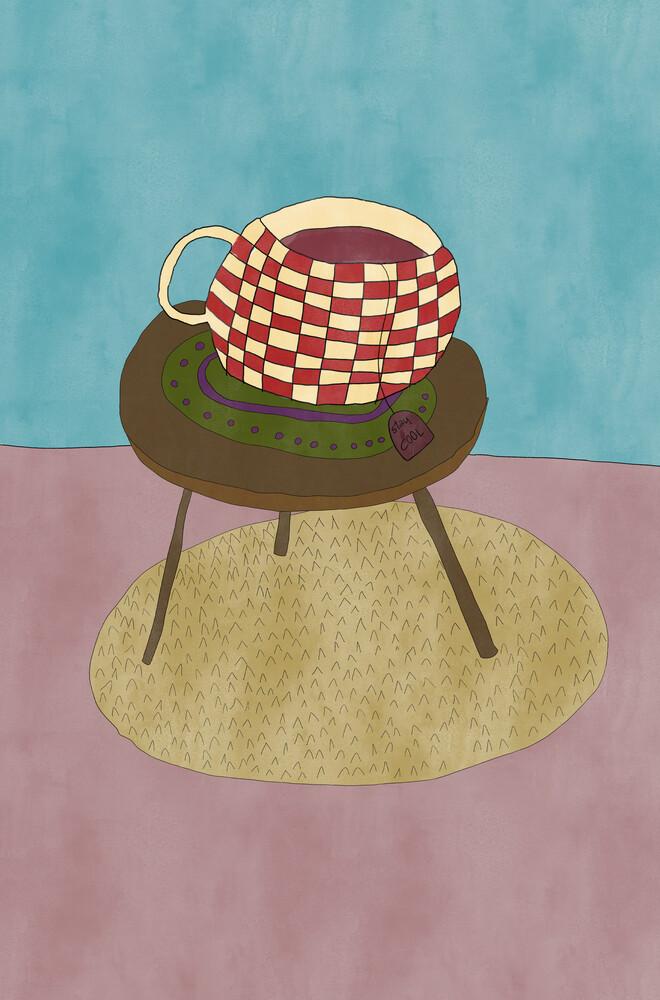 Teatime - fotokunst von Andrea Hansen