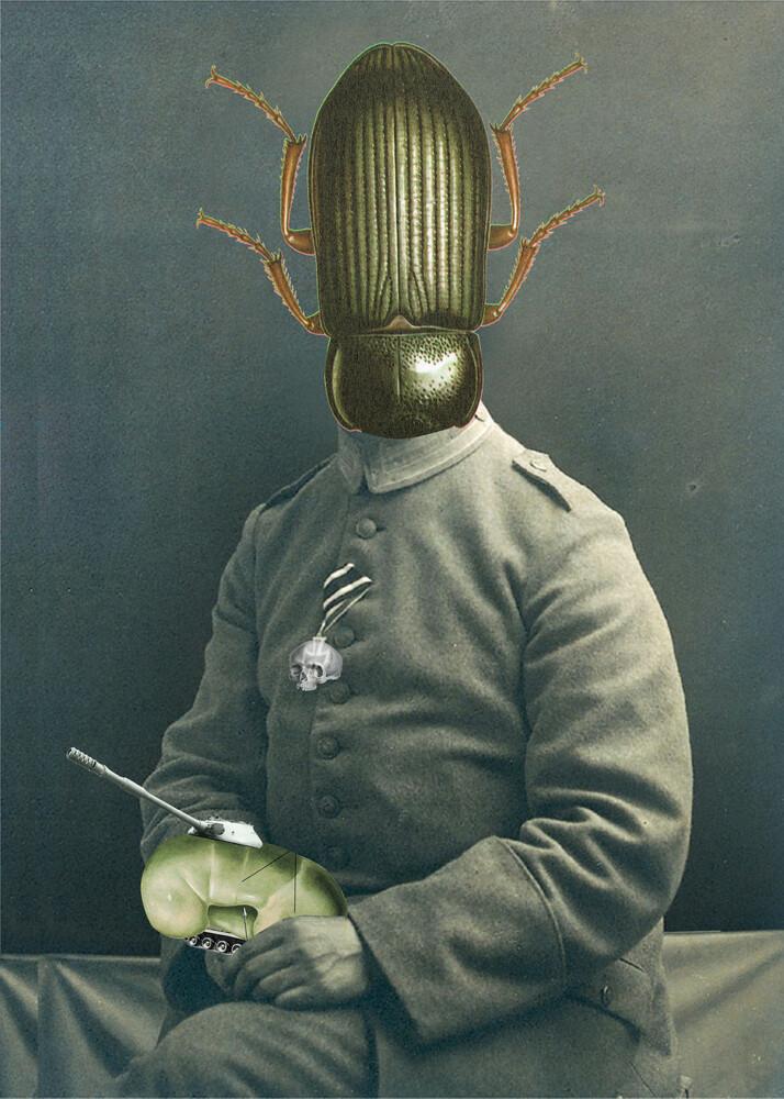sgt kaputnik 2 - fotokunst von Marko Köppe