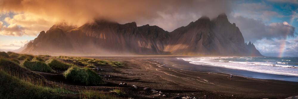 Vestrahorn, Island - fotokunst von Sebastian Warneke
