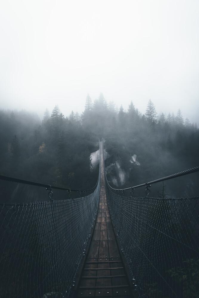 Handeckfallbrücke - fotokunst von Jonas Hafner