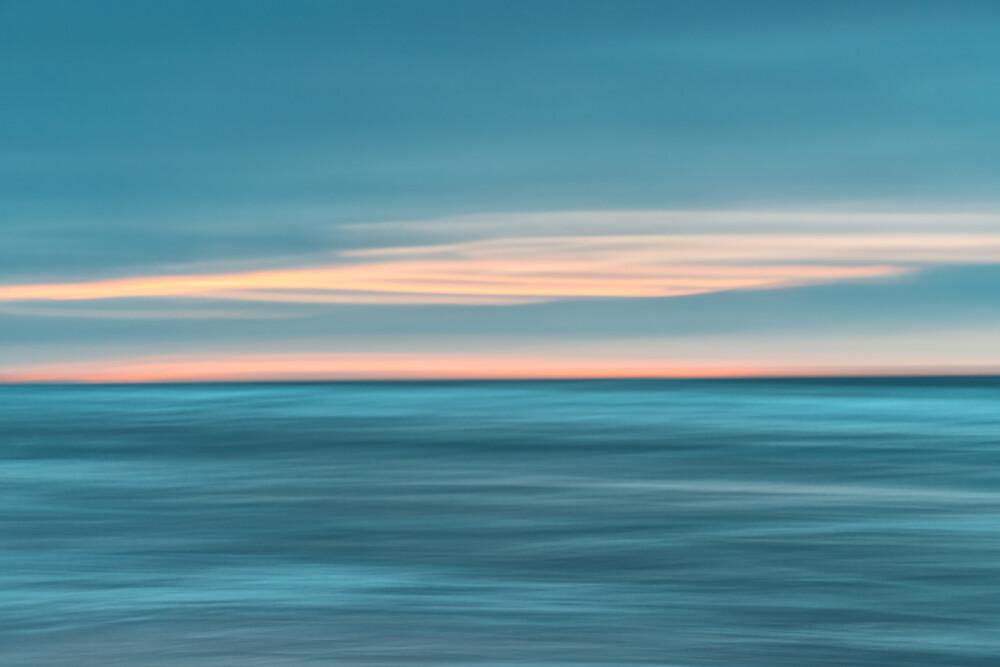 maritime sunset - fotokunst von Holger Nimtz