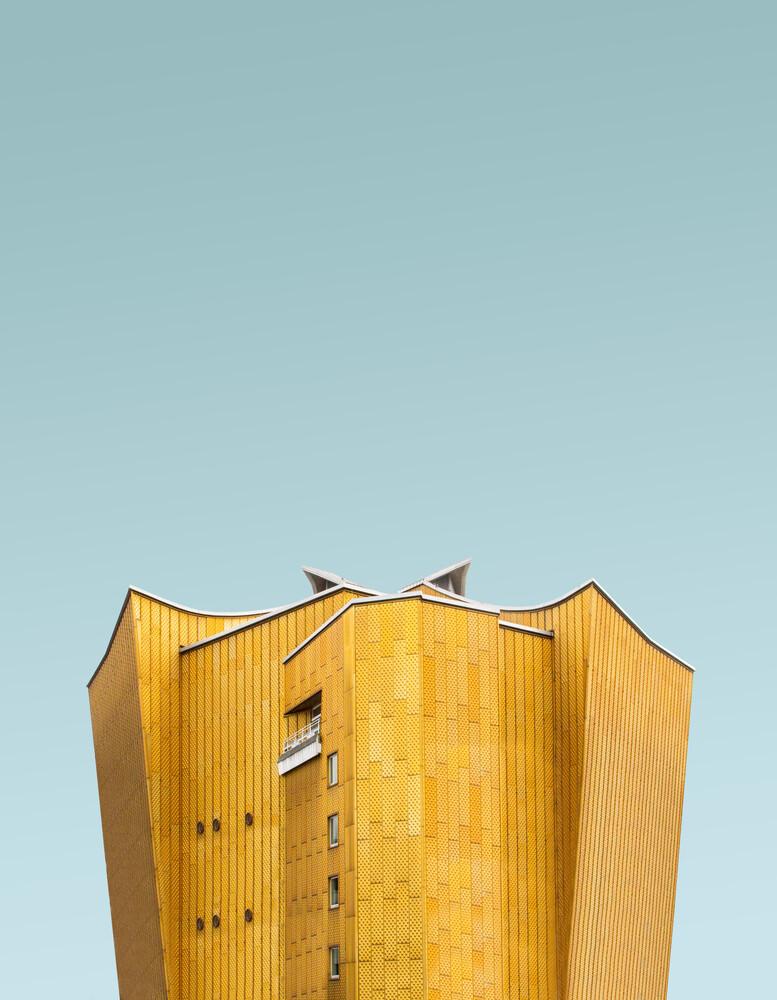 Yellow Orchester - fotokunst von Simone Hutsch