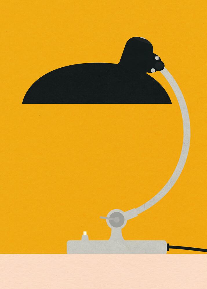 Bauhaus Table Lamp Kaiser Idell 6631 - Fineart photography by Rosi Feist