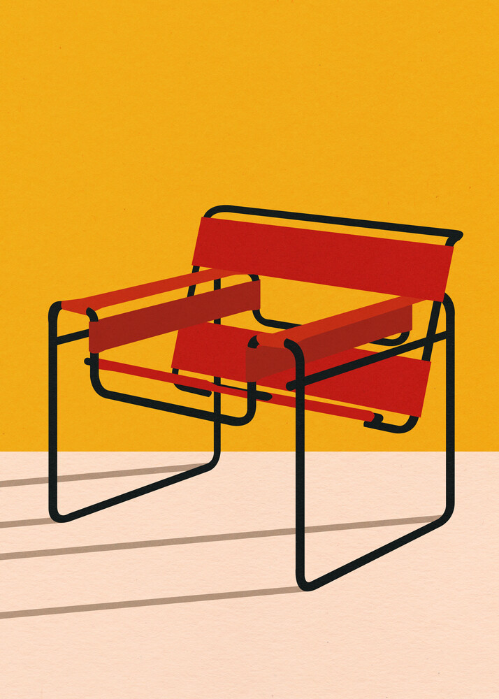 Marcel Breuer Wassily Chair - Fineart photography by Rosi Feist