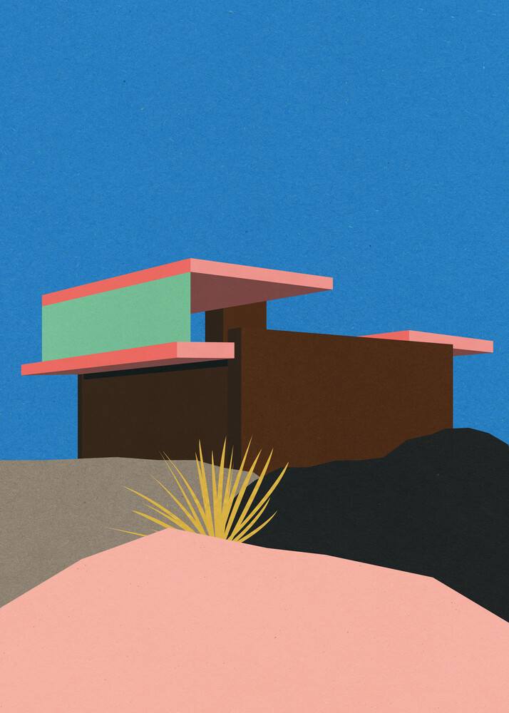 Kaufmann Desert House Palm Springs - Fineart photography by Rosi Feist