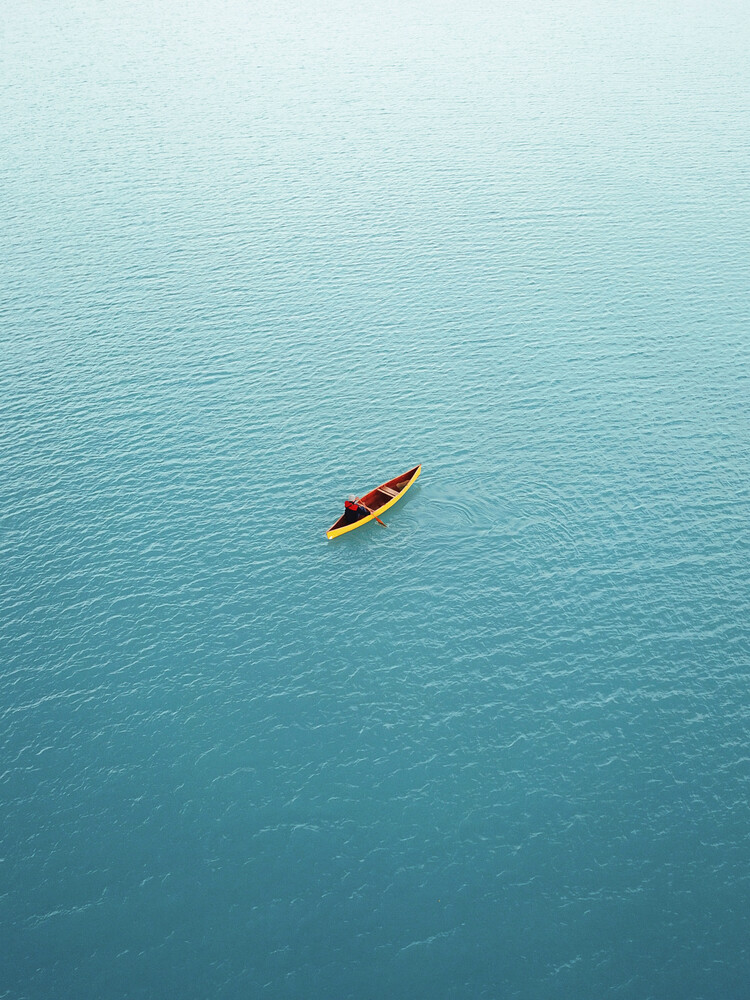 Canoeing in New Zealand - Fineart photography by Frida Berg