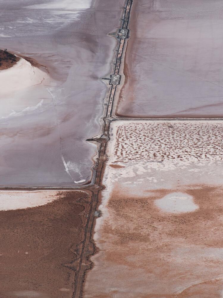 Pastel Salt - fotokunst von Frida Berg
