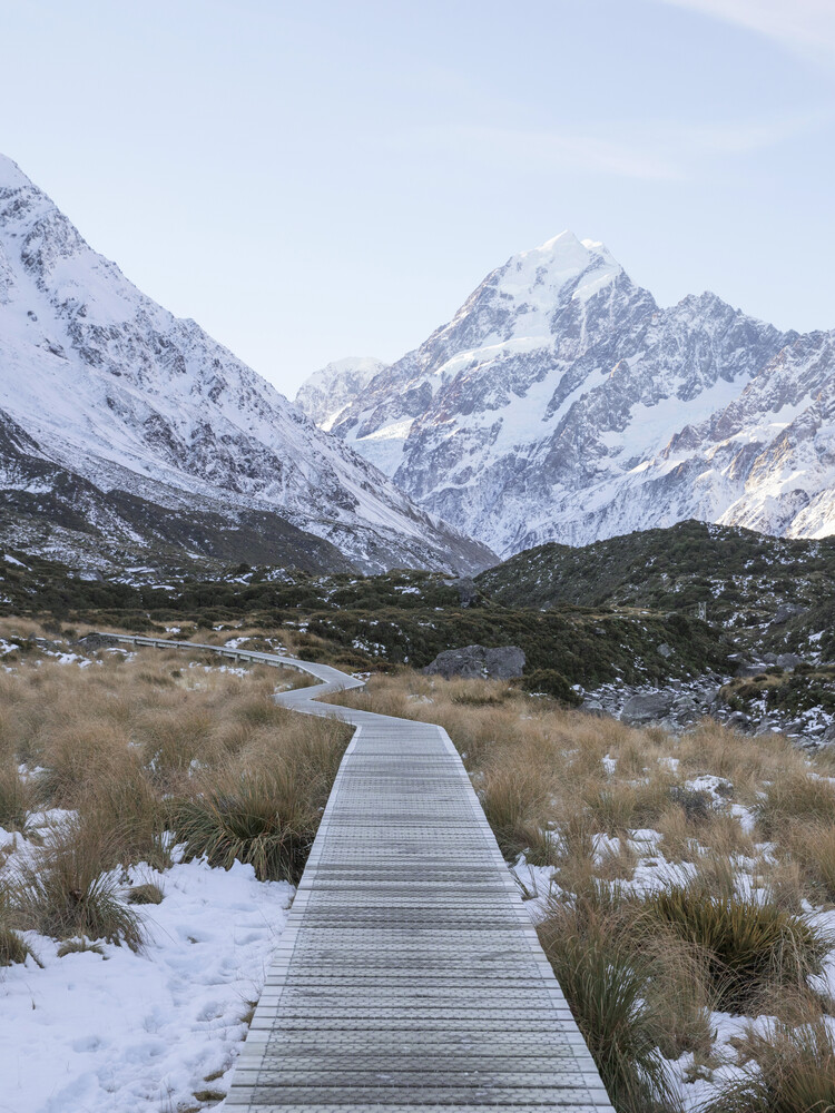 Hooker Valley Track - Fineart photography by Frida Berg
