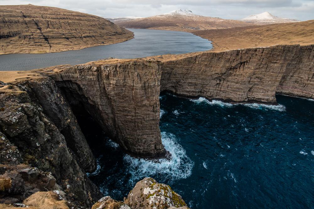 Über Meeresspiegel - fotokunst von Fabian Wanisch