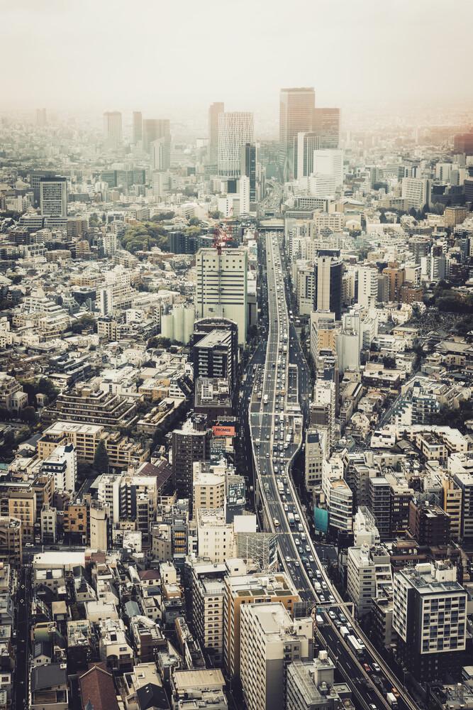 Von Roppongi nach Shibuya - fotokunst von Pascal Deckarm