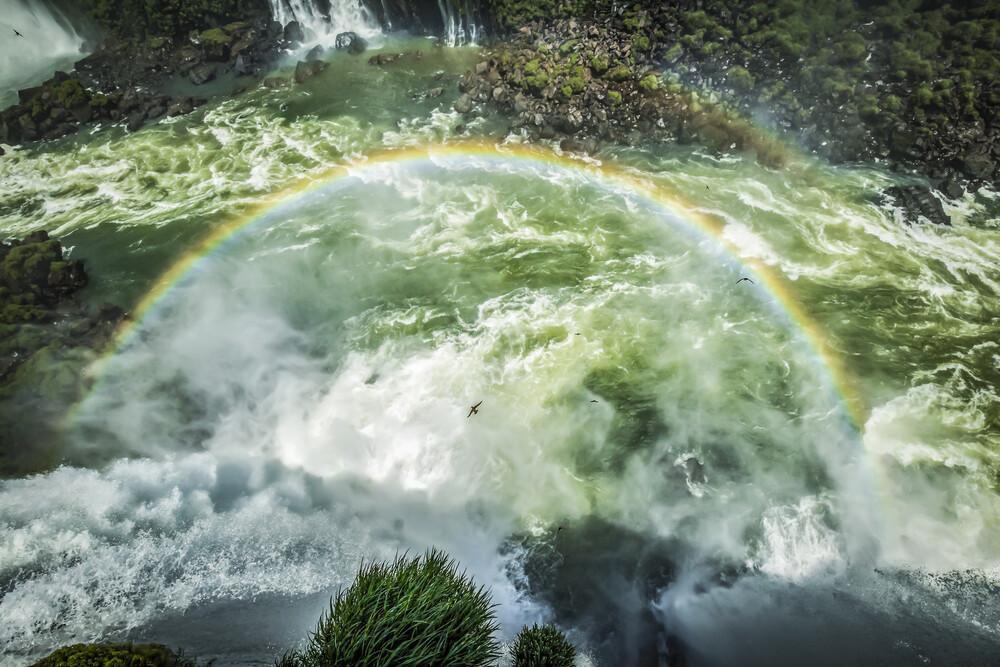 IGUAZU RAINBOW - fotokunst von Andreas Adams