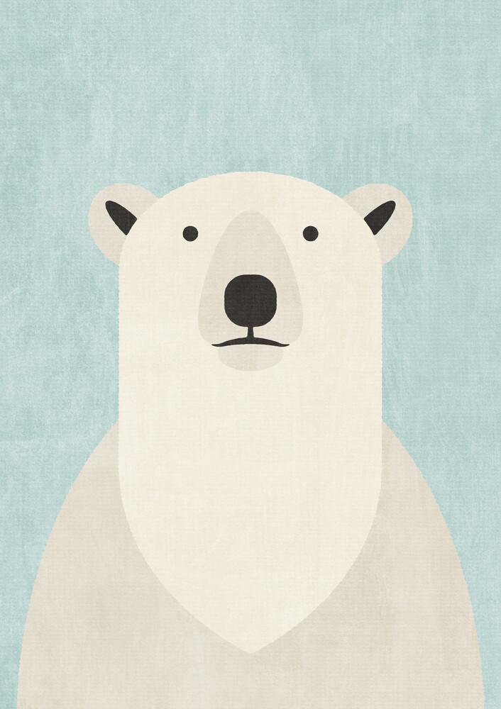 FAUNA Eisbär - fotokunst von Daniel Coulmann