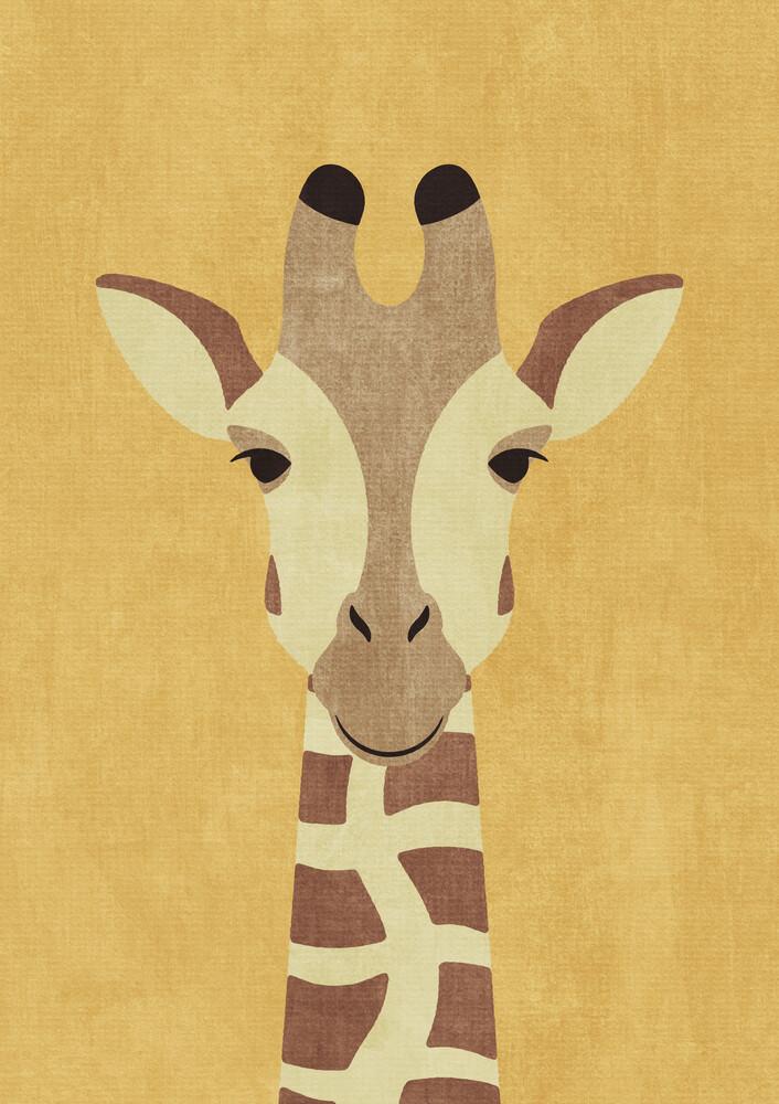 FAUNA Giraffe - fotokunst von Daniel Coulmann