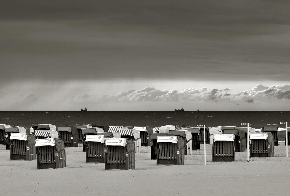 Ein Sturm zieht auf  - fotokunst von Silva Wischeropp