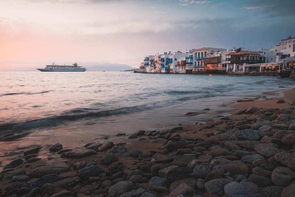 Little Venice, Mykonos - fotokunst von Christian Becker