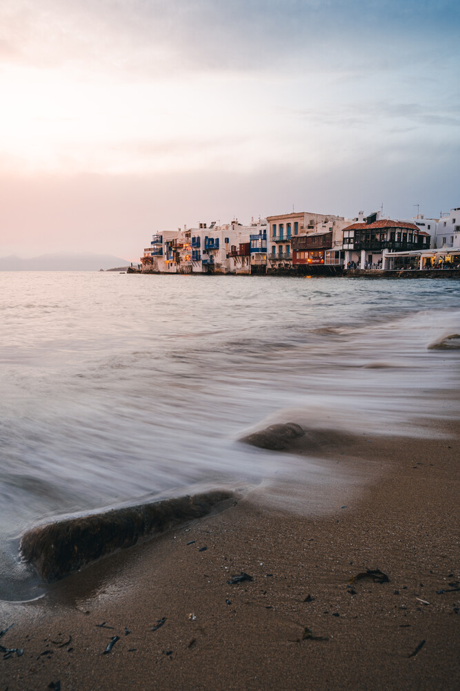 Little Venice, Mykonos - Fineart photography by Christian Becker