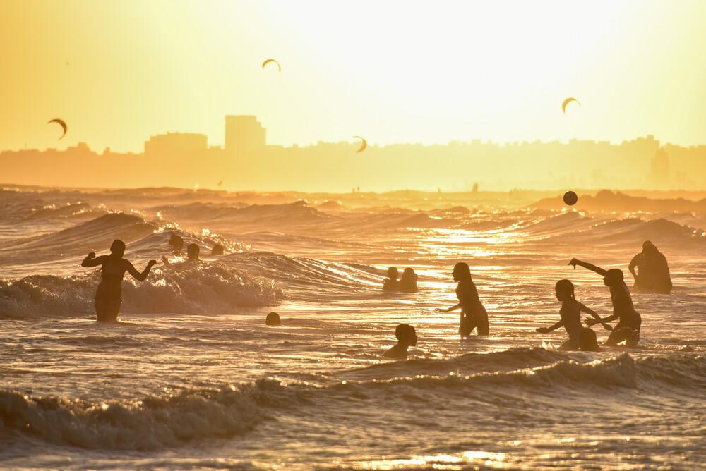 Sommer am Strand - fotokunst von Thomas Heinze