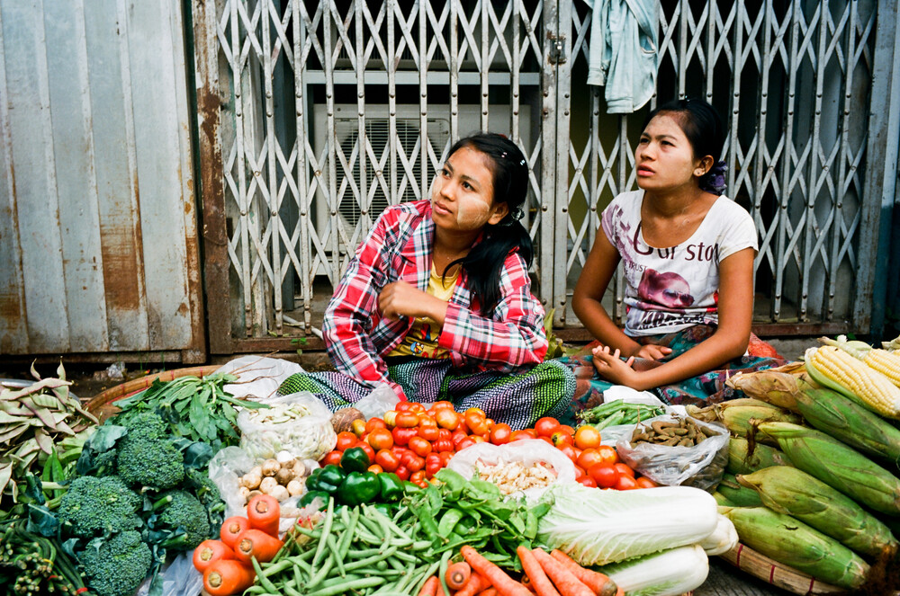 Myanmar Yangon - Fineart photography by Jim Delcid