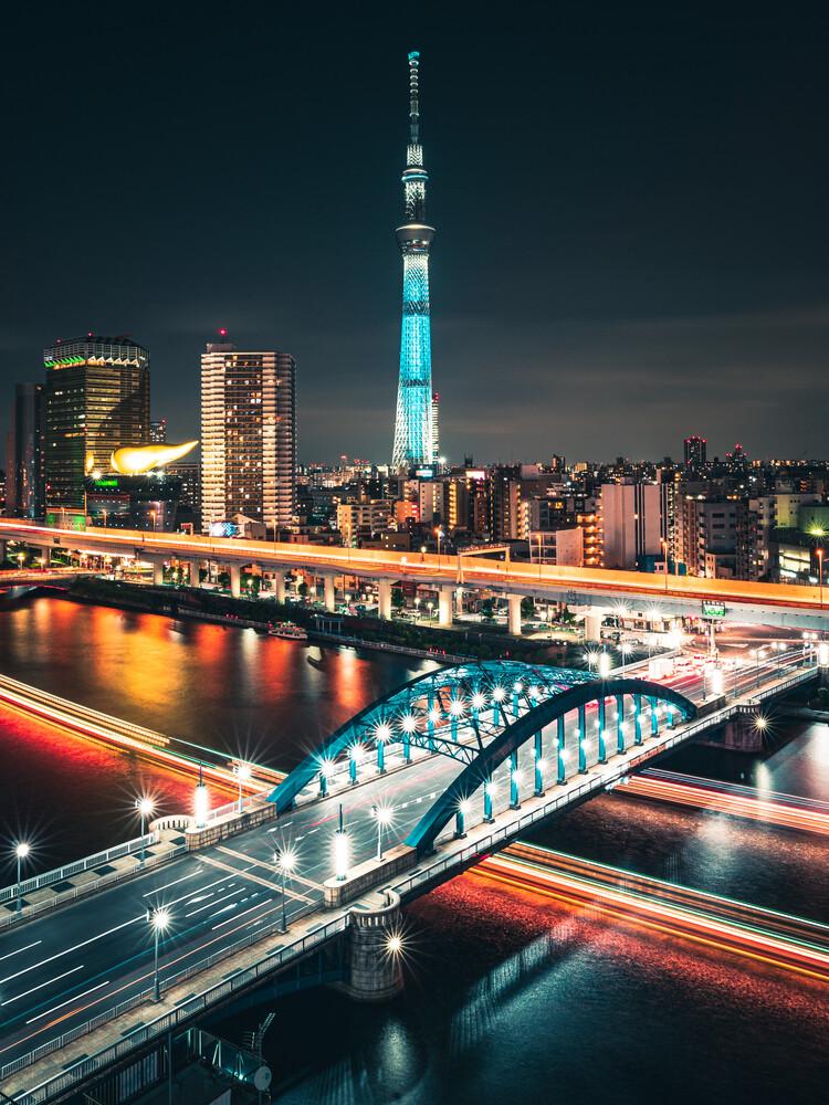Tokyo Skytree - fotokunst von Dimitri Luft