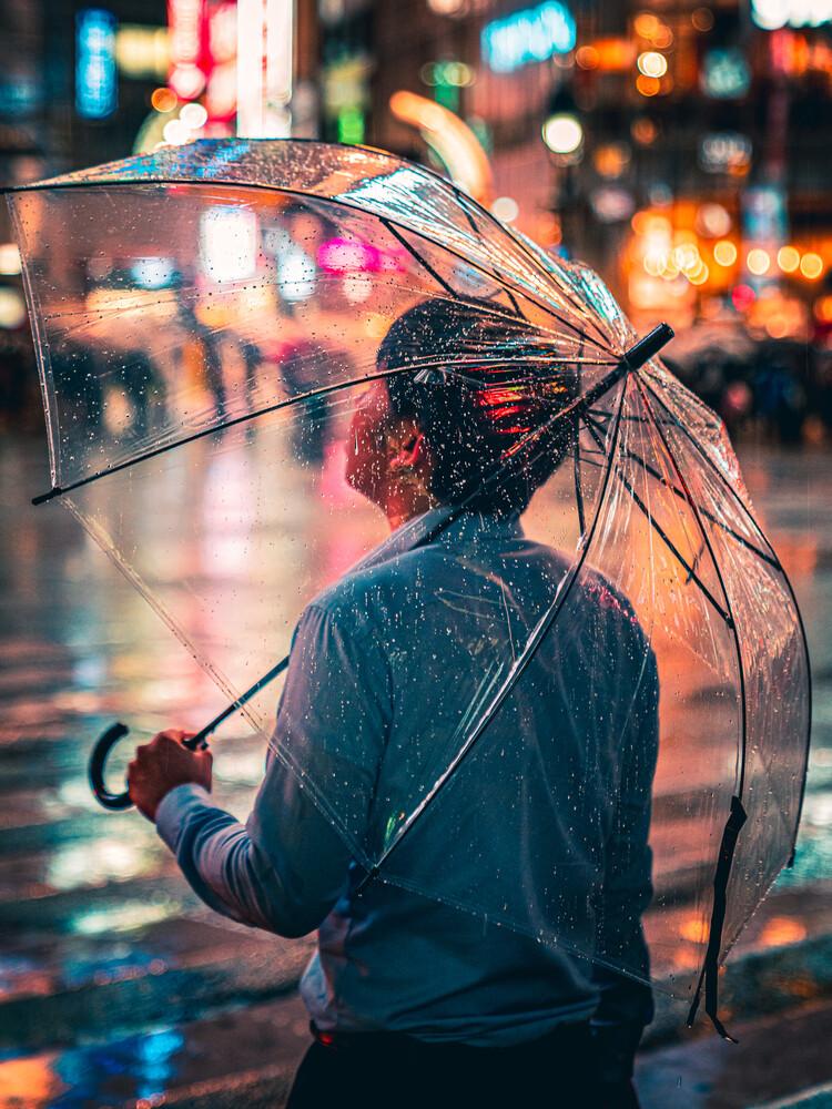 rain man - fotokunst von Dimitri Luft