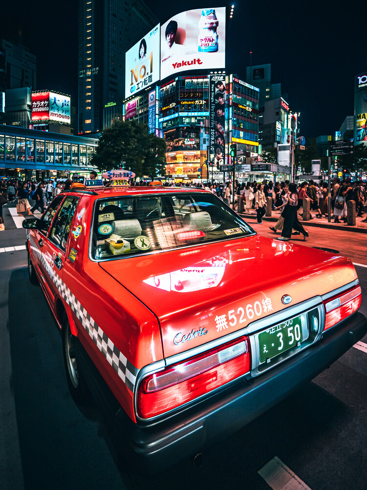 Japanese Taxi - Fineart photography by Dimitri Luft