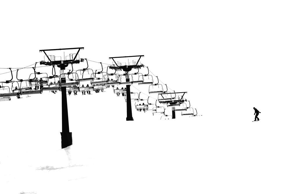Snow - fotokunst von Sascha Hoffmann-Wacker