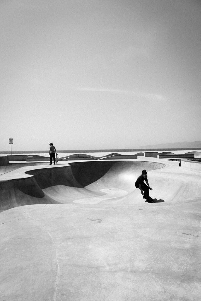 CONCRETE WAVES - fotokunst von Jan Henryk Köppen