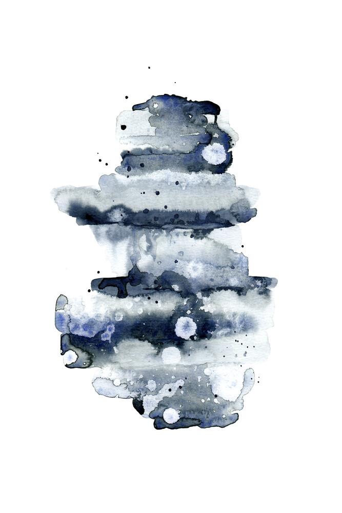 Indigo Abstract No. 1 - fotokunst von Cristina Chivu