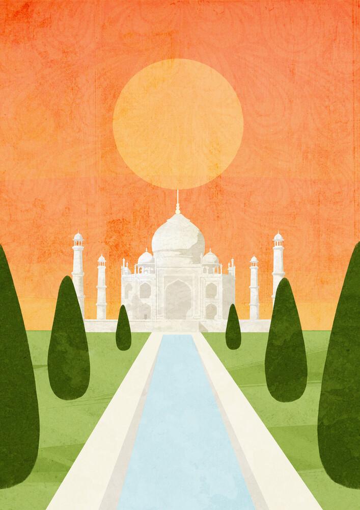 India - fotokunst von Katherine Blower