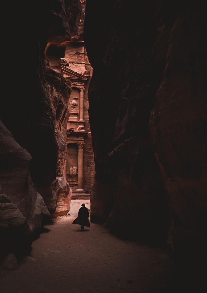 Lone walker - fotokunst von Julian Wedel
