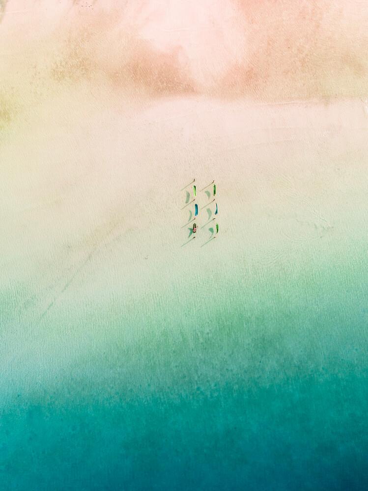 Relax among gradients - fotokunst von Laura Zimmermann