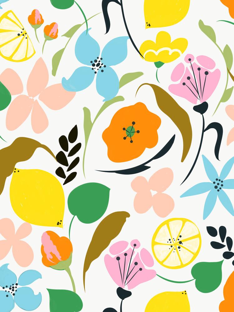 Lemon Botanicals - fotokunst von Uma Gokhale