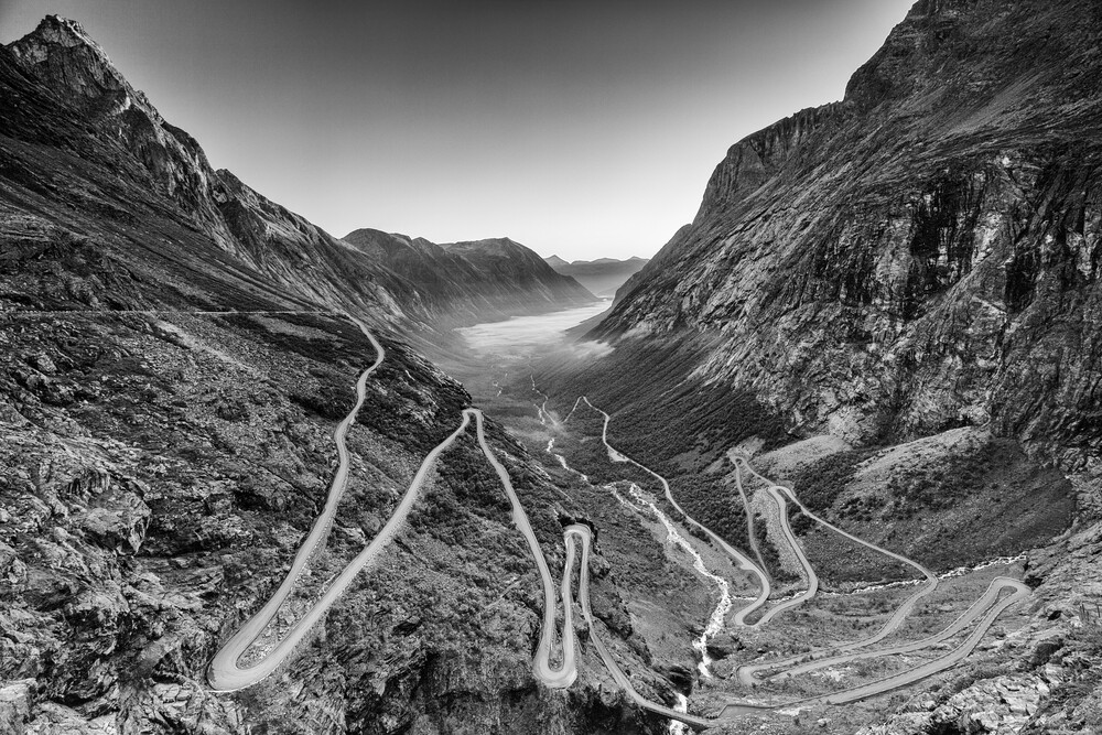 Trollstigen - Fineart photography by Mikolaj Gospodarek