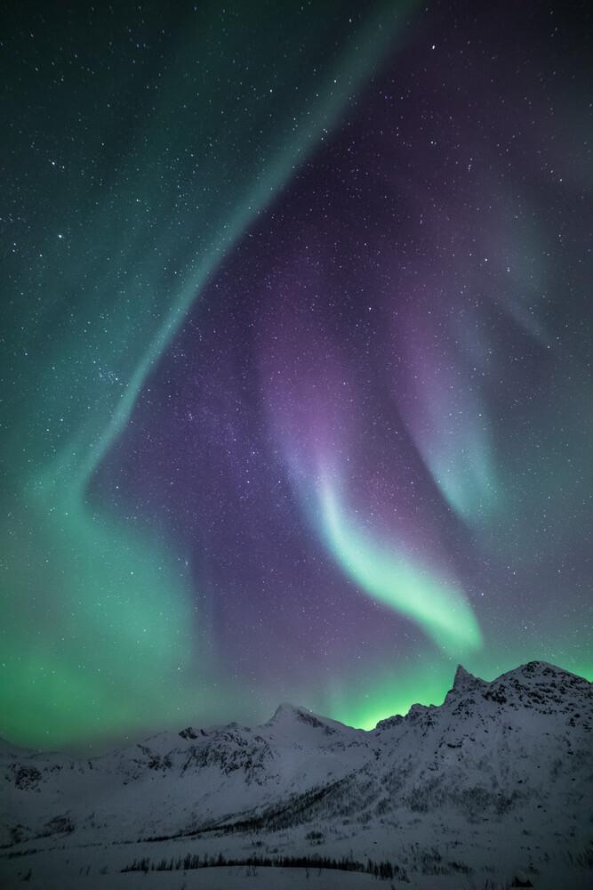 Arctic colours - fotokunst von Sebastian Worm