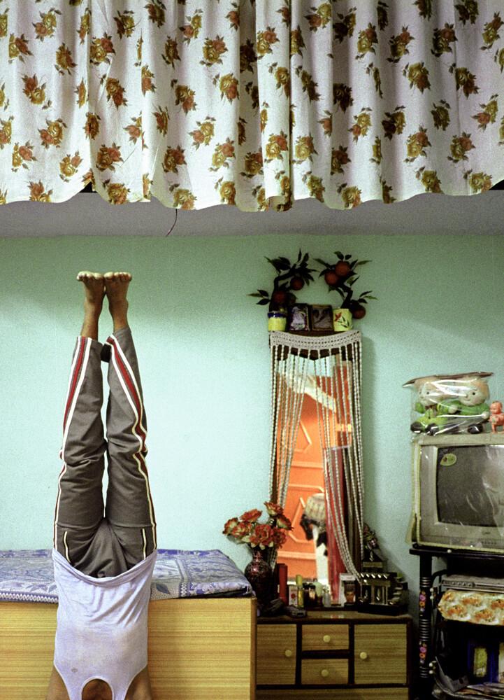Meditation, India - fotokunst von Jakob Berr