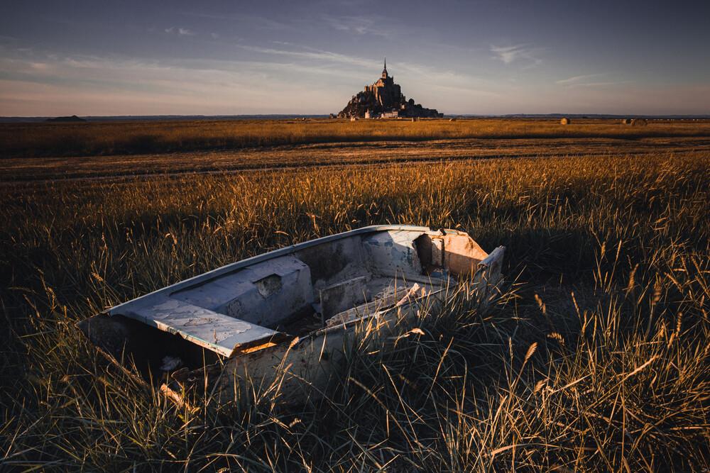 Le Mont-Saint-Michel - fotokunst von Eva Stadler
