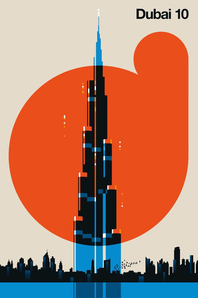 Dubai 10 - fotokunst von Bo Lundberg
