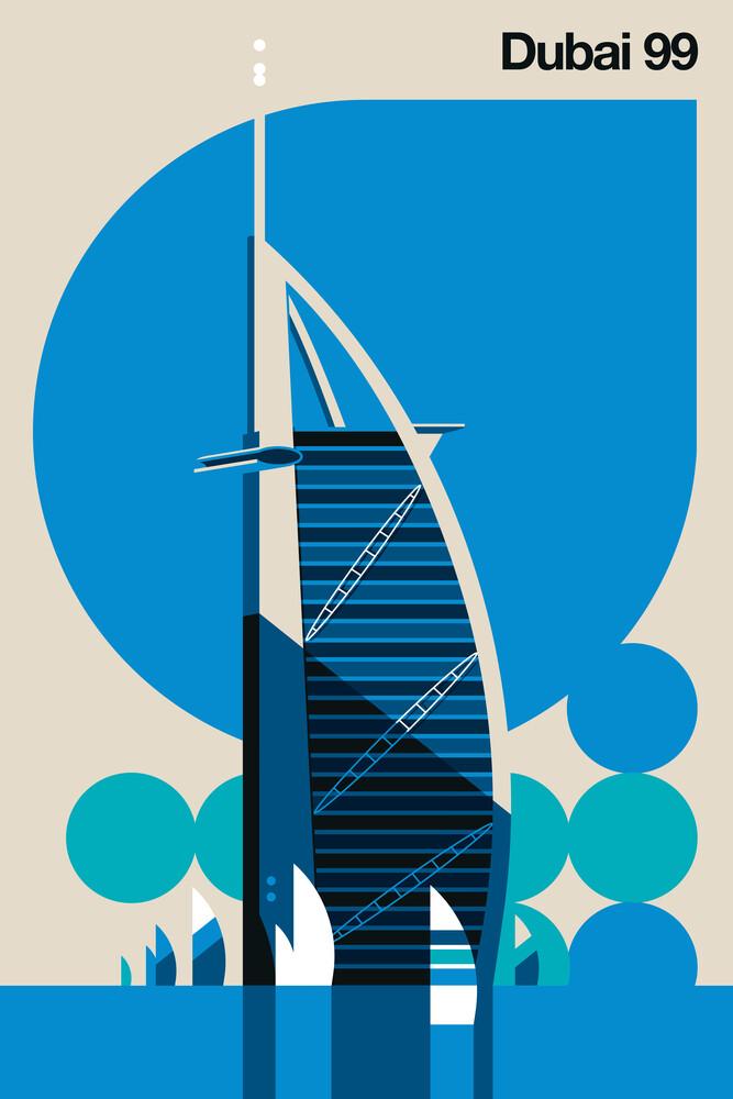 Dubai 99 - fotokunst von Bo Lundberg