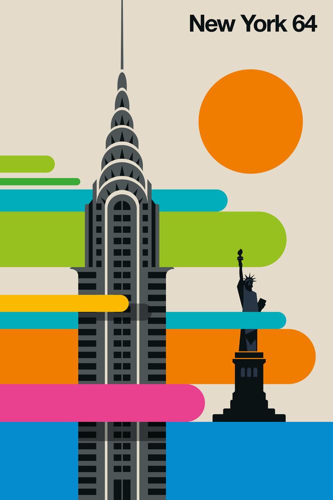 New York 64 - fotokunst von Bo Lundberg