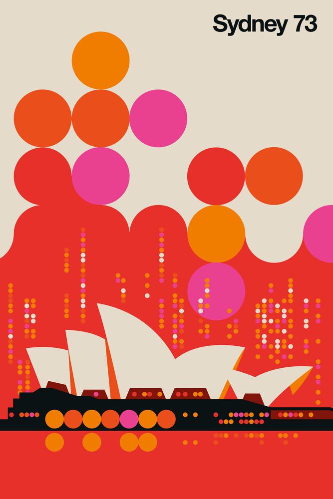 Sydney 73 - fotokunst von Bo Lundberg