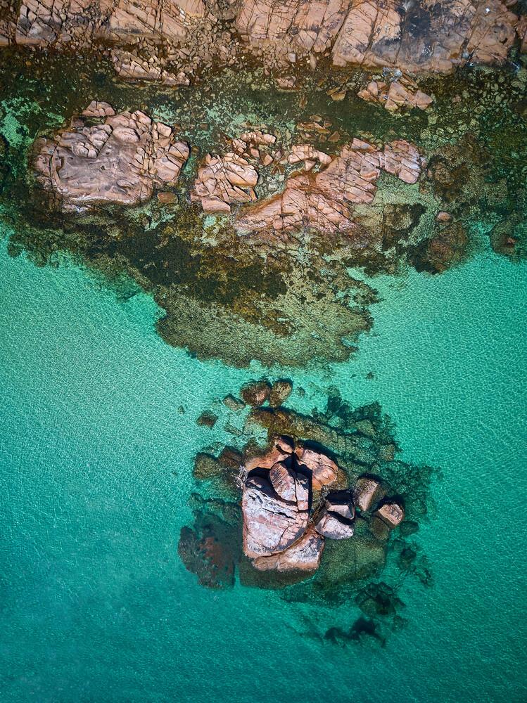 Eagle Bay - fotokunst von Sandflypictures - Thomas Enzler