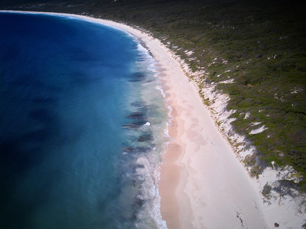 Hamelin Bay - fotokunst von Sandflypictures - Thomas Enzler